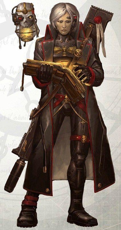 imperium inquisition servo-skull