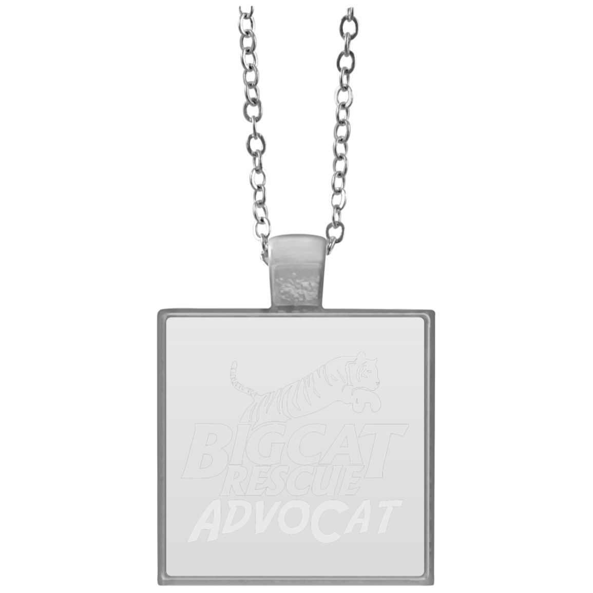 Logo AdvoCat Square Necklace (With images) Square