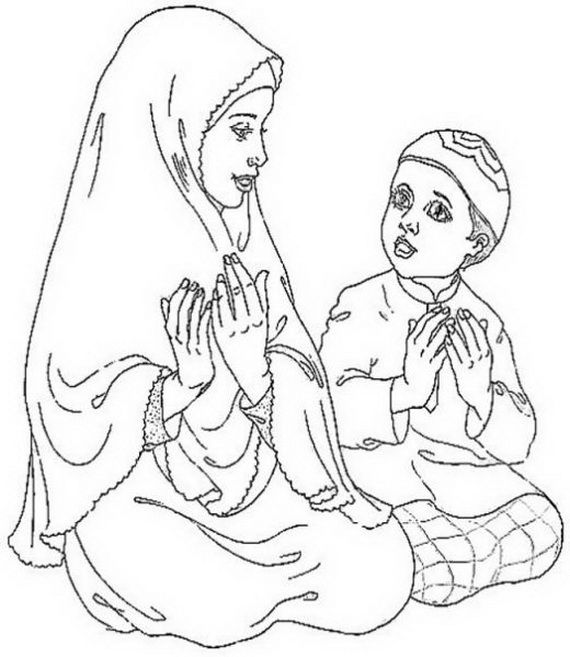 Ramadan Coloring Pages For Kids With Images Coloring Pages For