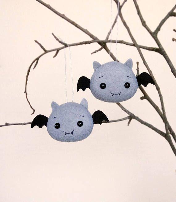 Cute Bat Halloween Decor Creepy Cute Halloween Baby Shower Aa2018