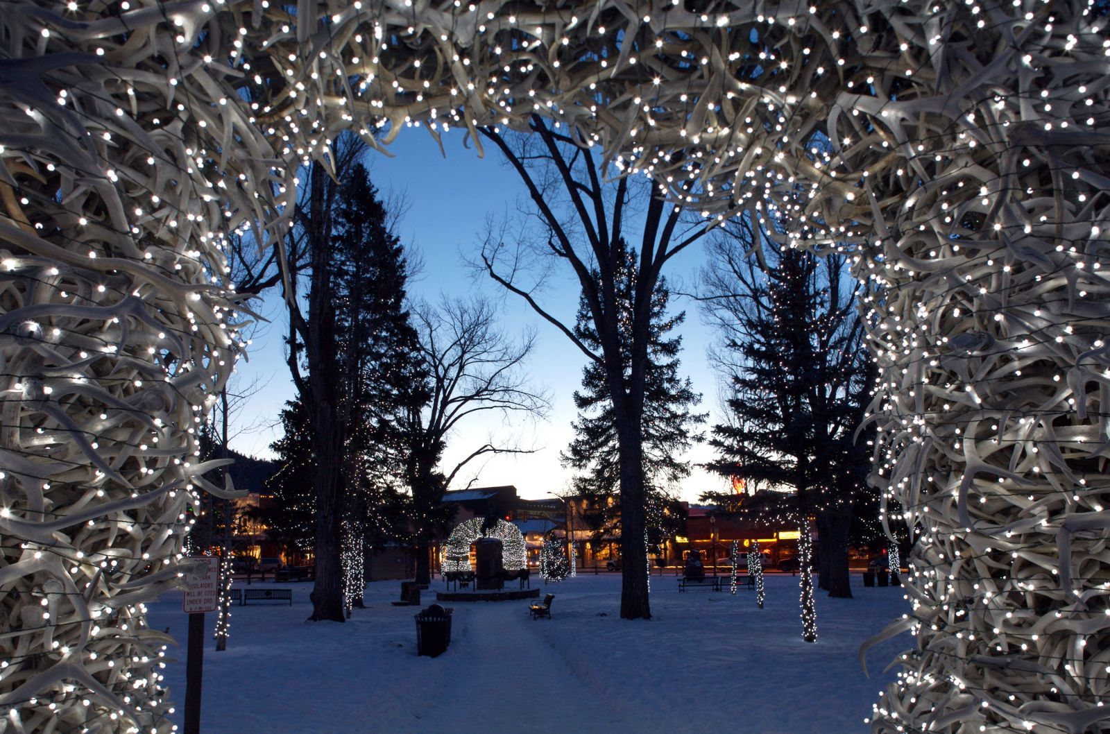 americas 20 best small towns for christmas jackson hole wyoming - Small Town Christmas