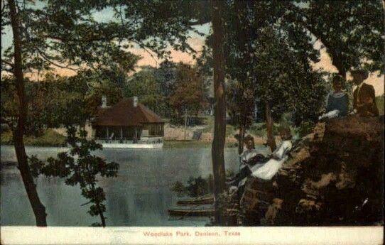 Woodlake Park Sherman Texas 1910 Sherman Texas In 2019