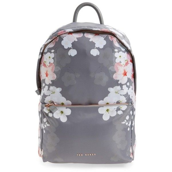45cd5f29e Women s Ted Baker London Olica Oriental Blossom Backpack ( 107) ❤ liked on  Polyvore featuring bags