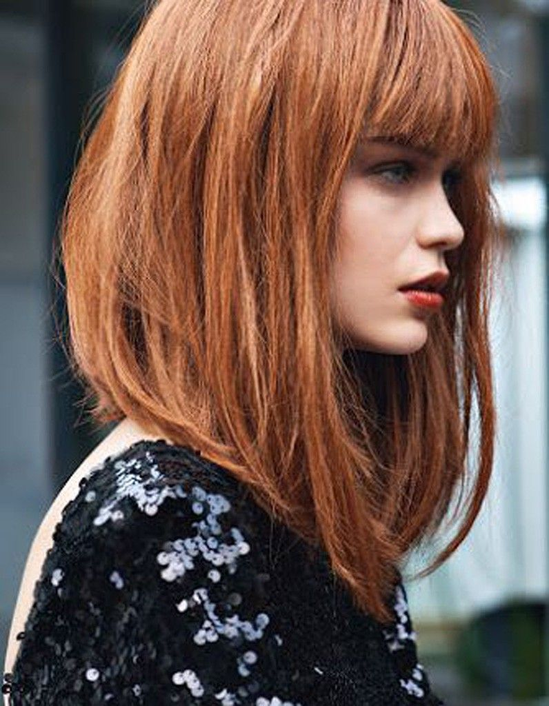 coupe cheveux long roux