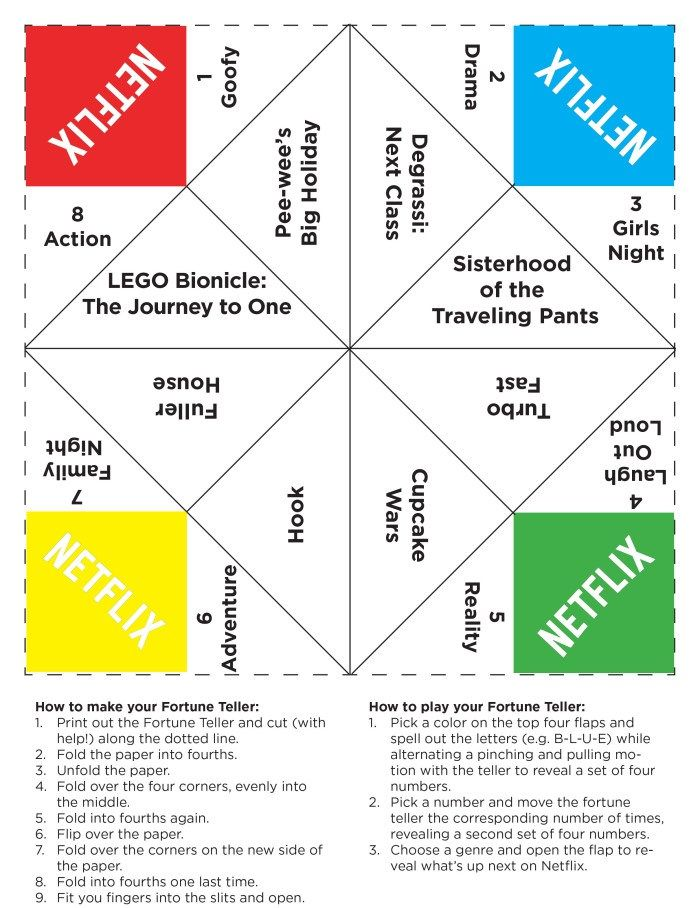 This is a photo of Fortune Teller Printable with multiplication