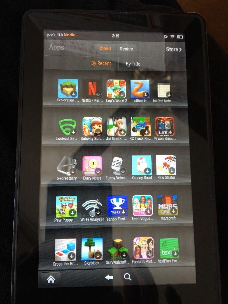 Kindle Fire Amazon 1st Generation 8GB Black 7