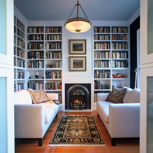 Sitting Roomlibrary White Furniture Floor To Ceiling Alluring Living Room Library Design Design Decoration