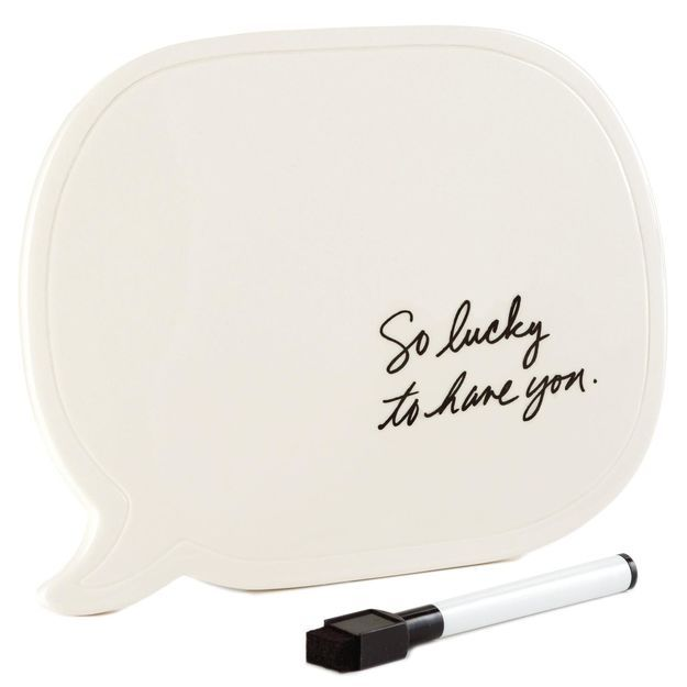 What Better Way To Say Whatu0027s On Your Mind Than With A Speech Bubble  Whiteboard! This Creative Concept Sits Nicely On Your Desktop And Can Be  Used For ...