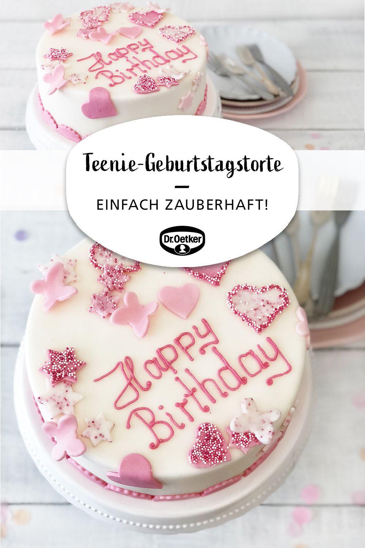 Teenie-Geburtstagstorte