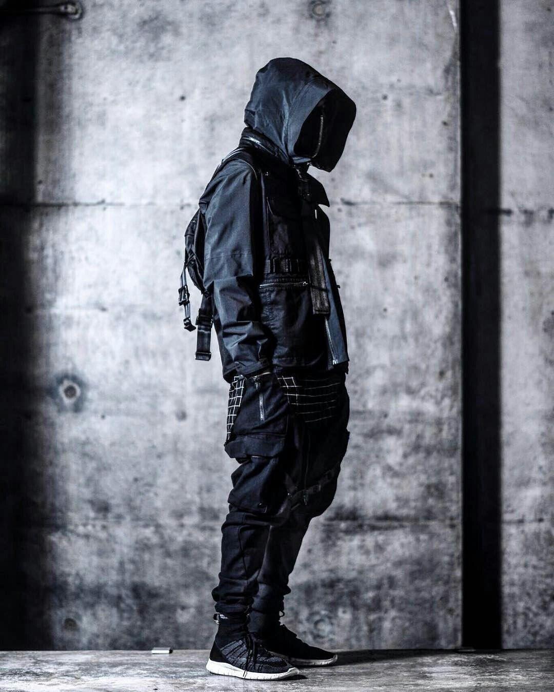 9b20a79ab3d8 Create Techwear   Cyberpunk wear   Fashion, Fashion Design и Mens ...