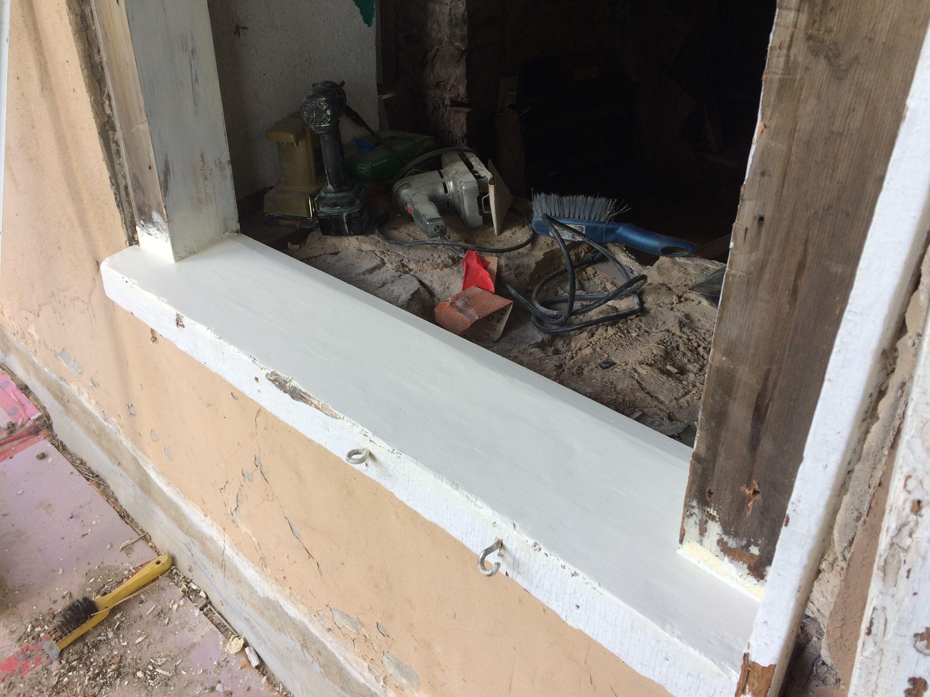Above exterior window decor  window jam u sill detail  window structure  pinterest  window