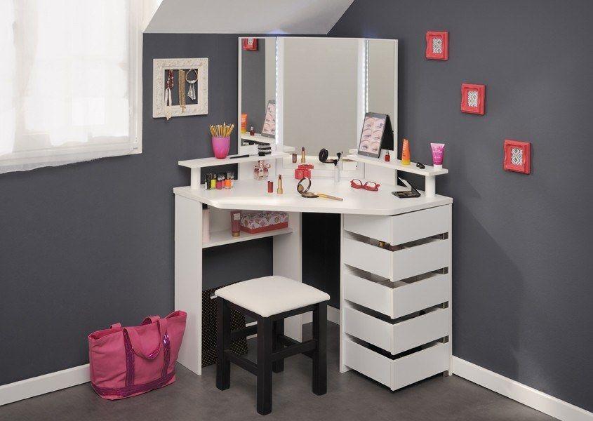 Parisot corner beauty bar dressing tables bedroom furniture