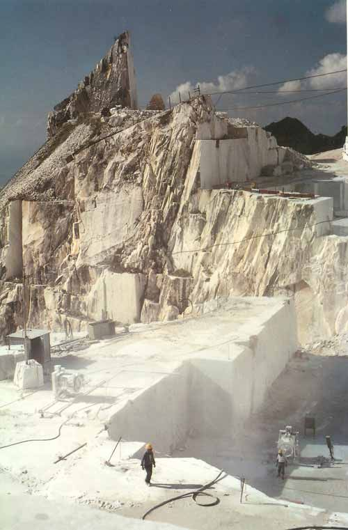 Carrara Is A Type Of White Or Blue Grey Marble Popular For