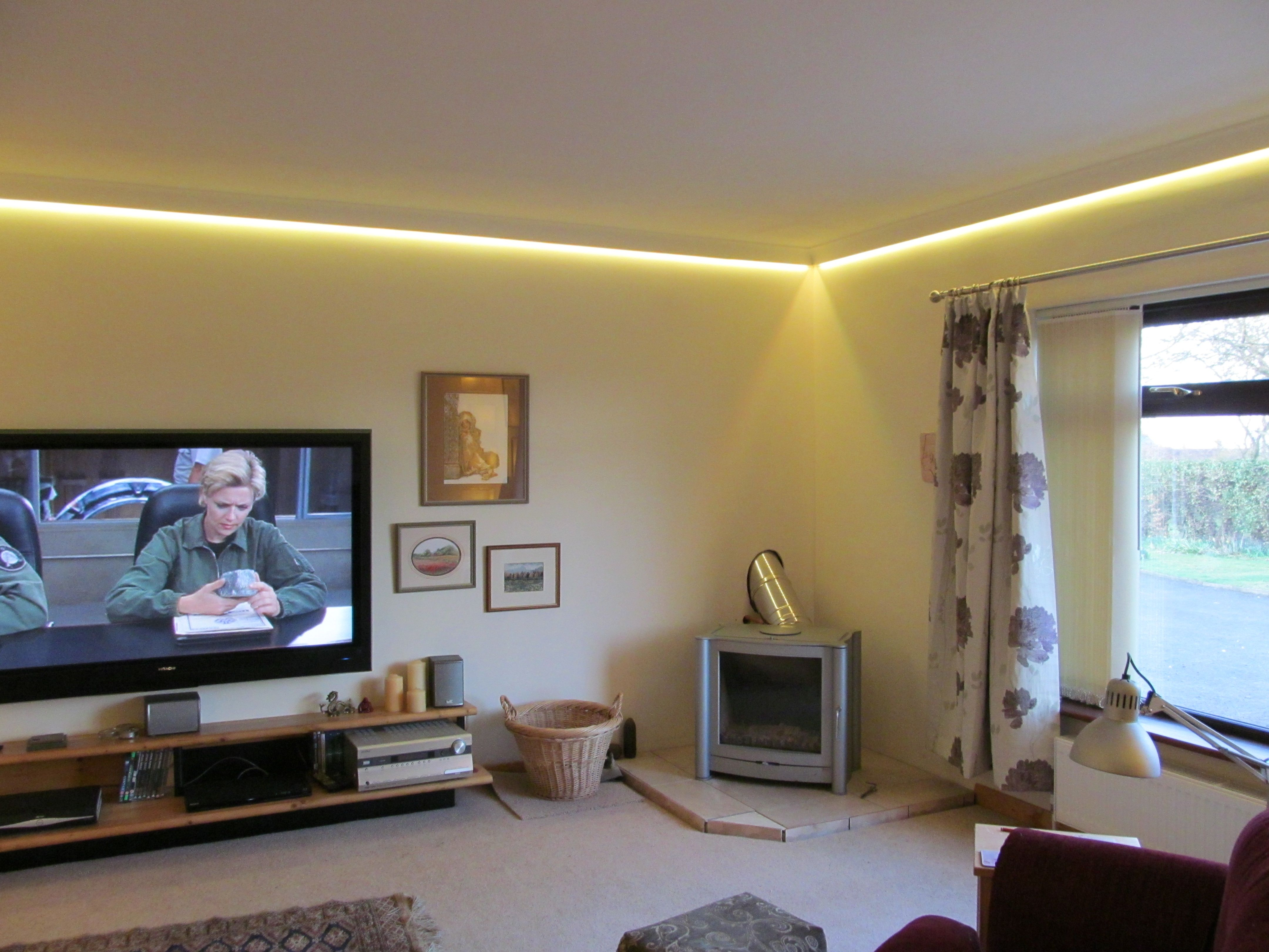 LED wall wash lighting Project - Plaster or Polystyrene coving ... for Led Lights For Bedroom Walls  183qdu