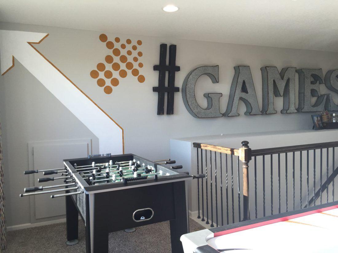 Kristin Plansky Murals | Game Room