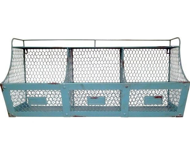 Chicken Wire Wall Basket | Chicken wire, Wire basket and Shelves