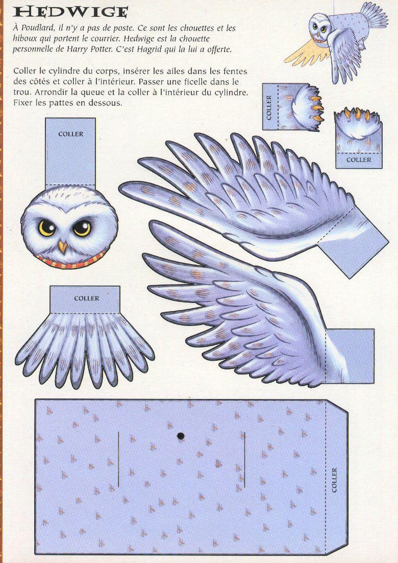 hedwige harry potter - Recherche Google | Bricolage Harry ...