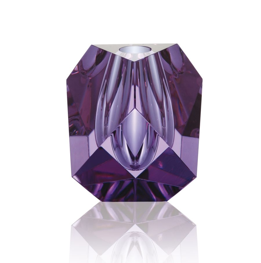 Massif 316715 cm vase cut on edges alexandrite cased with clear massif 316715 cm vase cut on edges alexandrite cased with clear moser glassworks purple artpurple glasscrystal floridaeventfo Images
