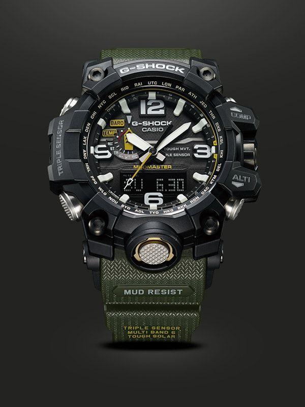 e759580b5 MUDMASTER - G-SHOCK - CASIO | Watches en 2019 | Reloj táctico, Reloj ...
