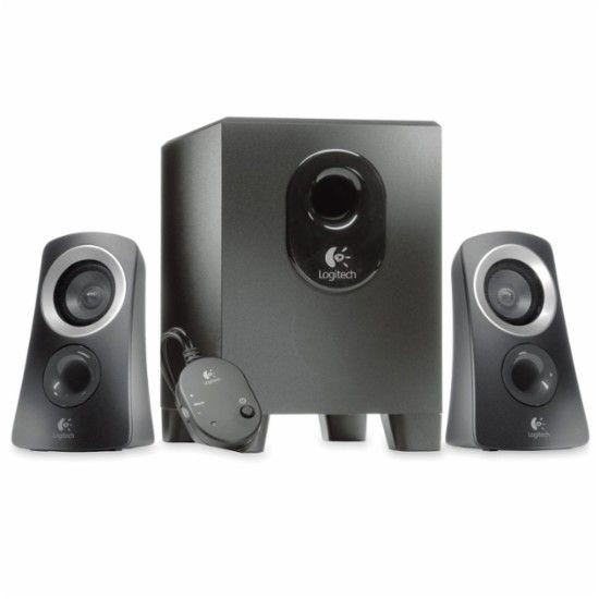 Logitech - Z313 Multimedia Speaker System - Black - Front Zoom   FairfieldGrantsWishes bee5bb09d082e