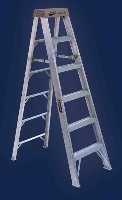 Choose From 3 To 20 Foot Models Commercial Grade Aluminum Stepladders Type Ia Slip Resistant Rubber Feet Aluminum Angle Step Ladders Ladder Aluminium Ladder