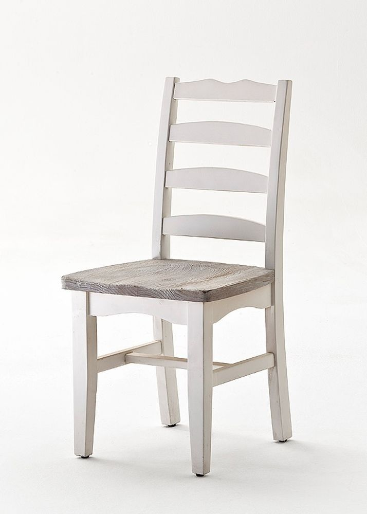 Küchenstuhl Rafael Kiefer Massivholz Weiß 5937. Buy now at https ...