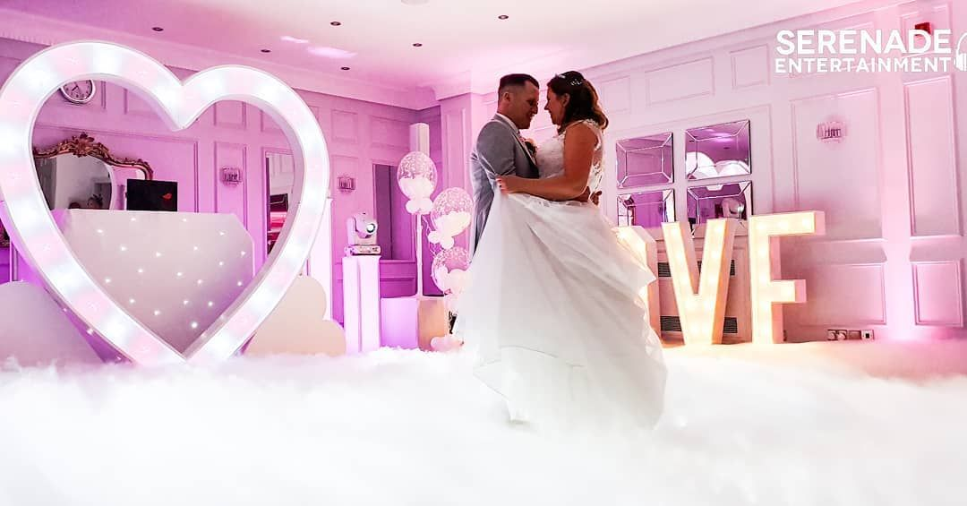 Great 1st Dance By Sam And Gary To Dancing On The Clouds Dryice Dancingontheclouds 1stdance 8ftloveheart Wed Wedding Dj Wedding Dresses Wedding Goals