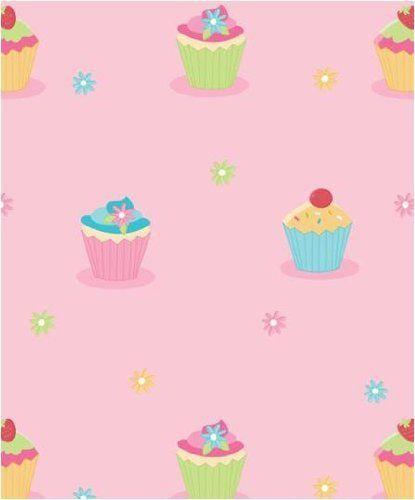 Fun4Walls Cupcake Wallpaper By Amazonco