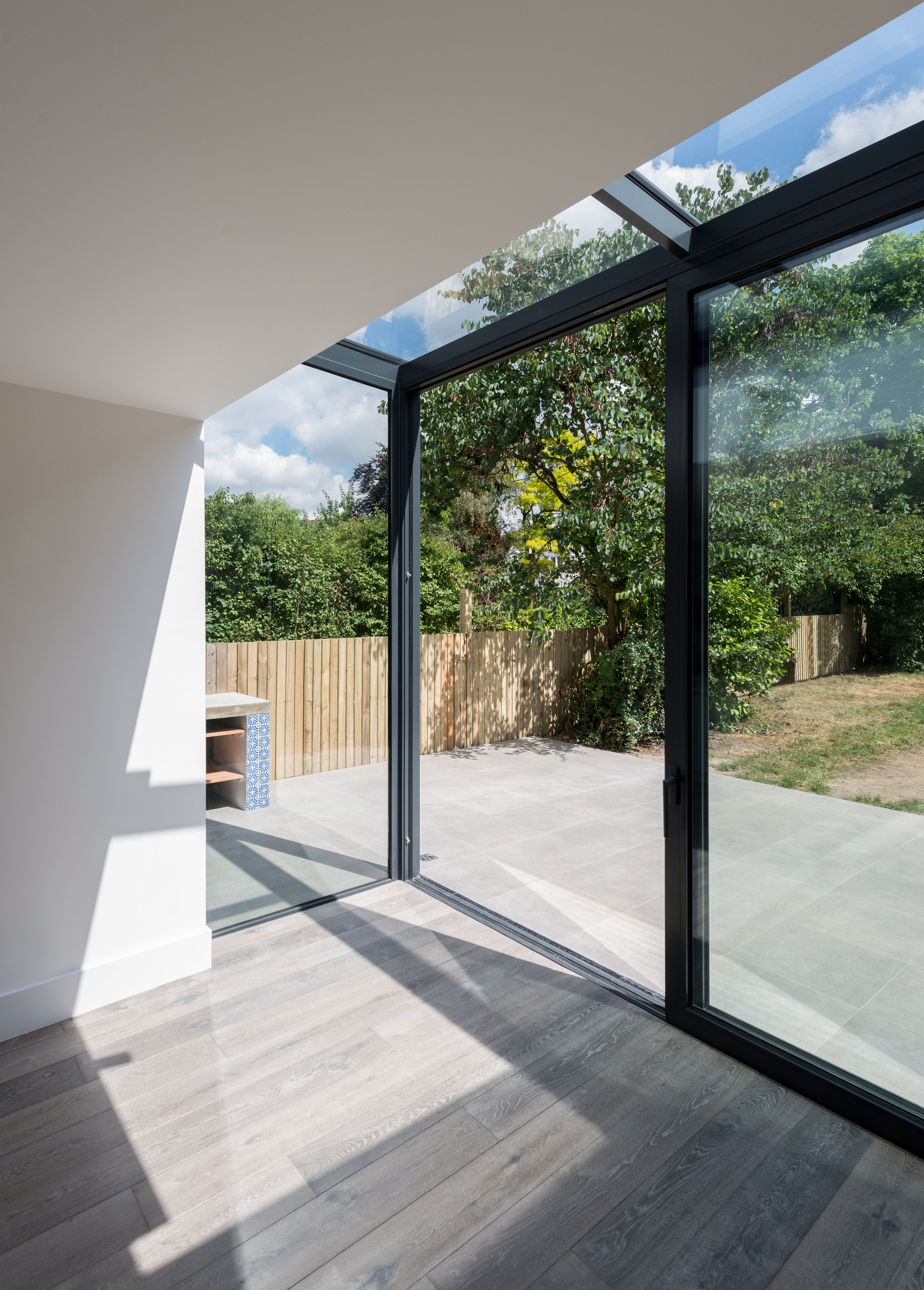 Southern Windows contemporary kitchen extension Glazed roof