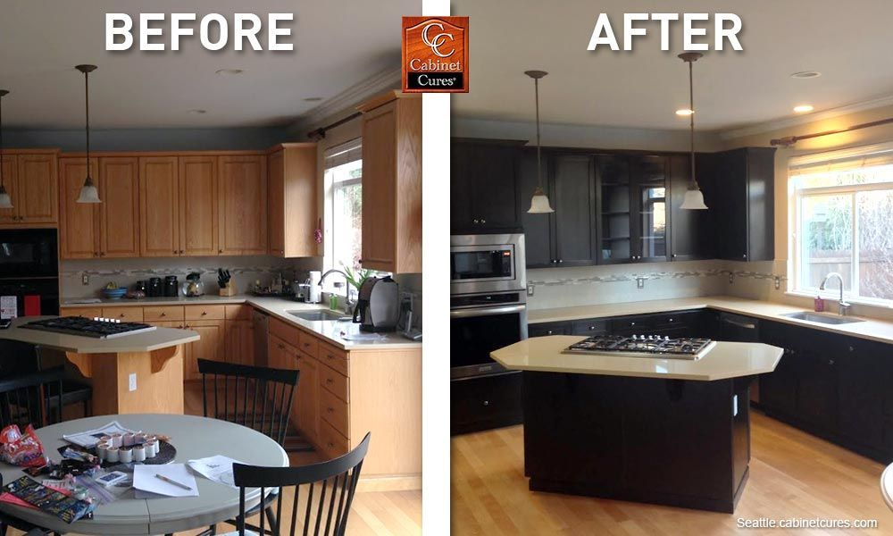 21 Kitchen Cabinet Refacing Ideas Options To Refinish Cabinets Diy Design Kitchen Cabinets Before And After Diy Kitchen Cabinets Refacing Kitchen Cabinets