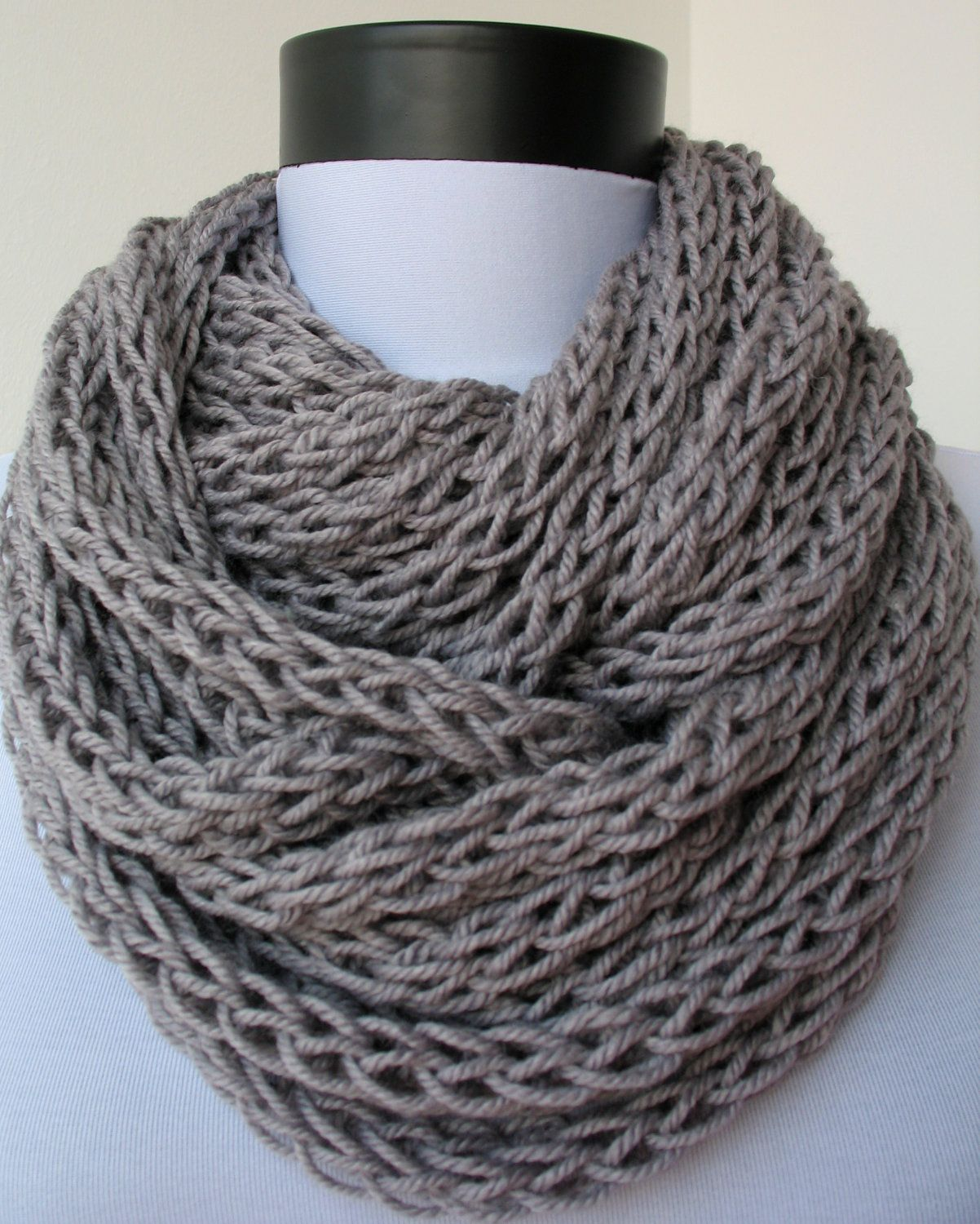 Chunky Infinity Scarf | Scarf necklace, Scarves and Neck warmer