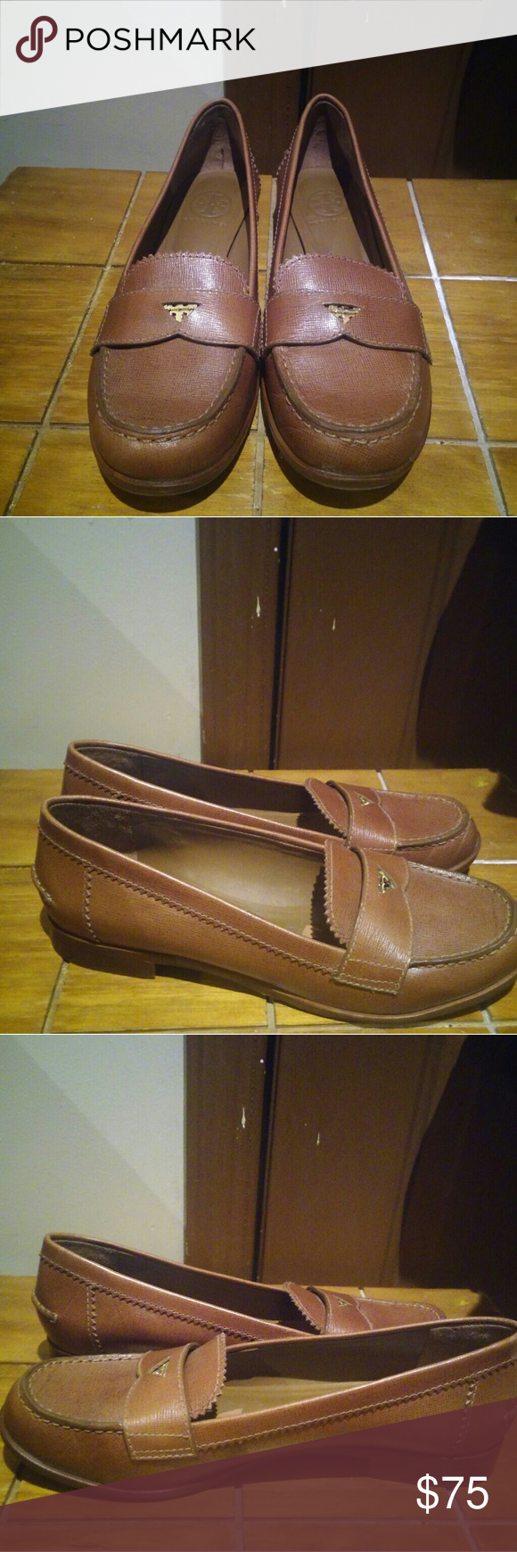 953d50cd682 Tory Burch Penny Loafers 8 1 2 M Great condition. No box Tory Burch Shoes  Flats   Loafers