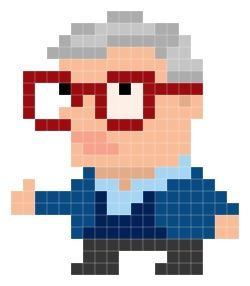 R.I.P Roger Ebert. Ioticons by Andy Rash