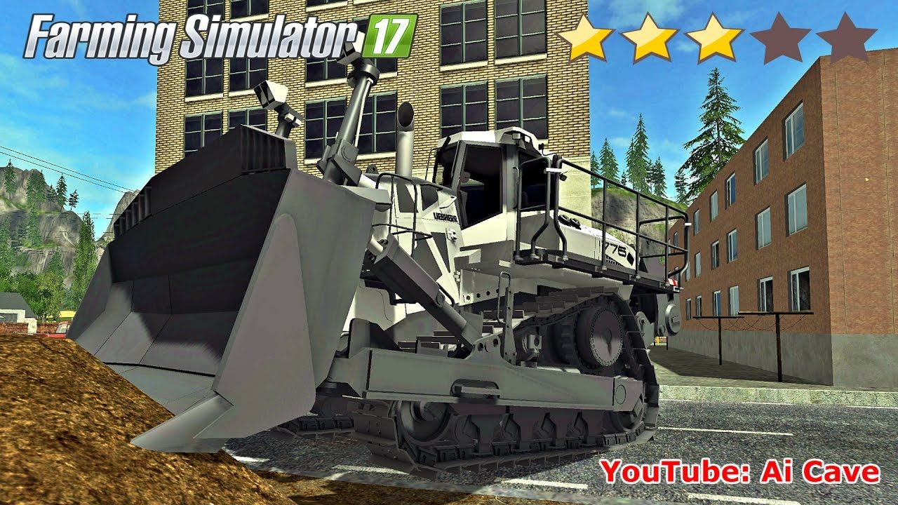 Farming Simulator 17 What The Heck - Liebherr PR 776