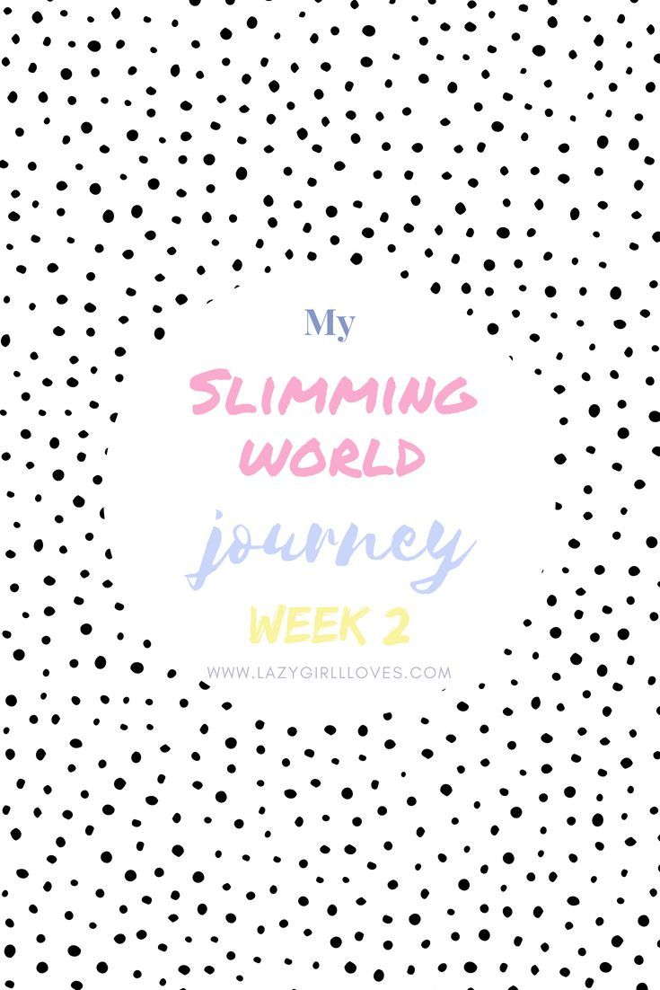Welcome to my Slimming World journey. I decided that I