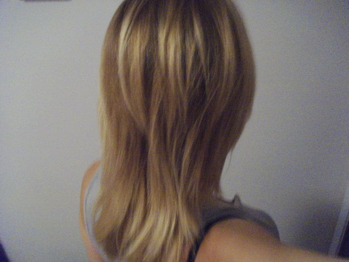 long hair with short layers on top hair pinterest