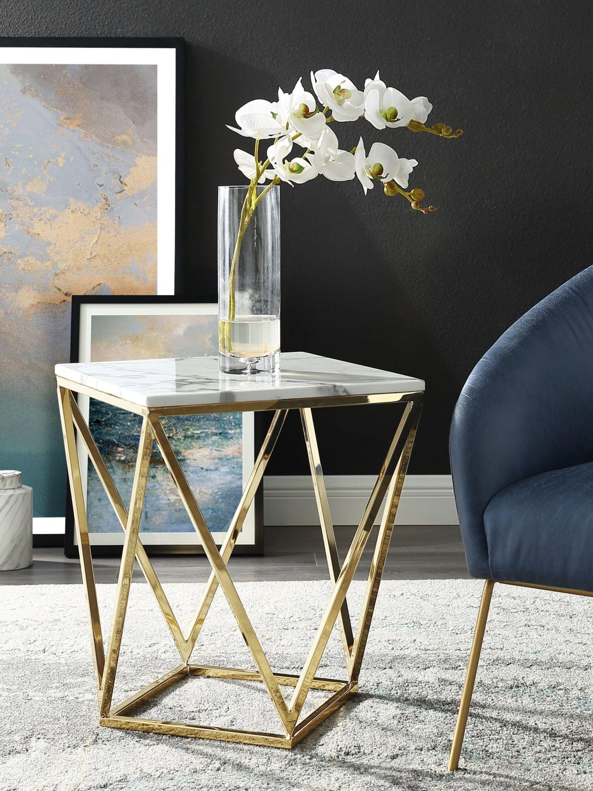 Minette End Table Elegant Living Room Furniture Furniture