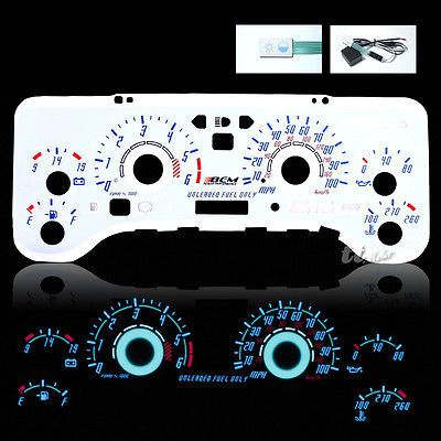 97 98 00 jeep wrangler tj reverse el glow gauge cluster face white 97 98 00 jeep wrangler tj reverse el glow gauge cluster face white wiring switch