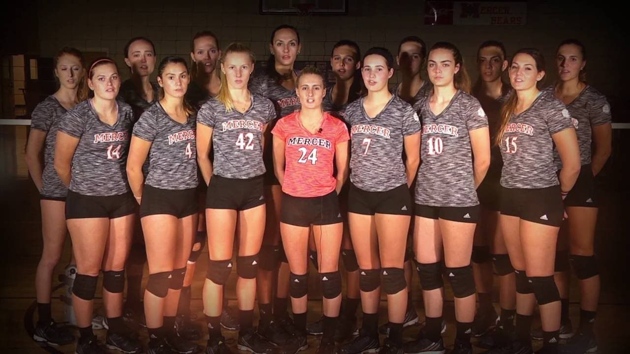 We Are Mercer Volleyball 2016 Volleyball News Volleyball Mercer