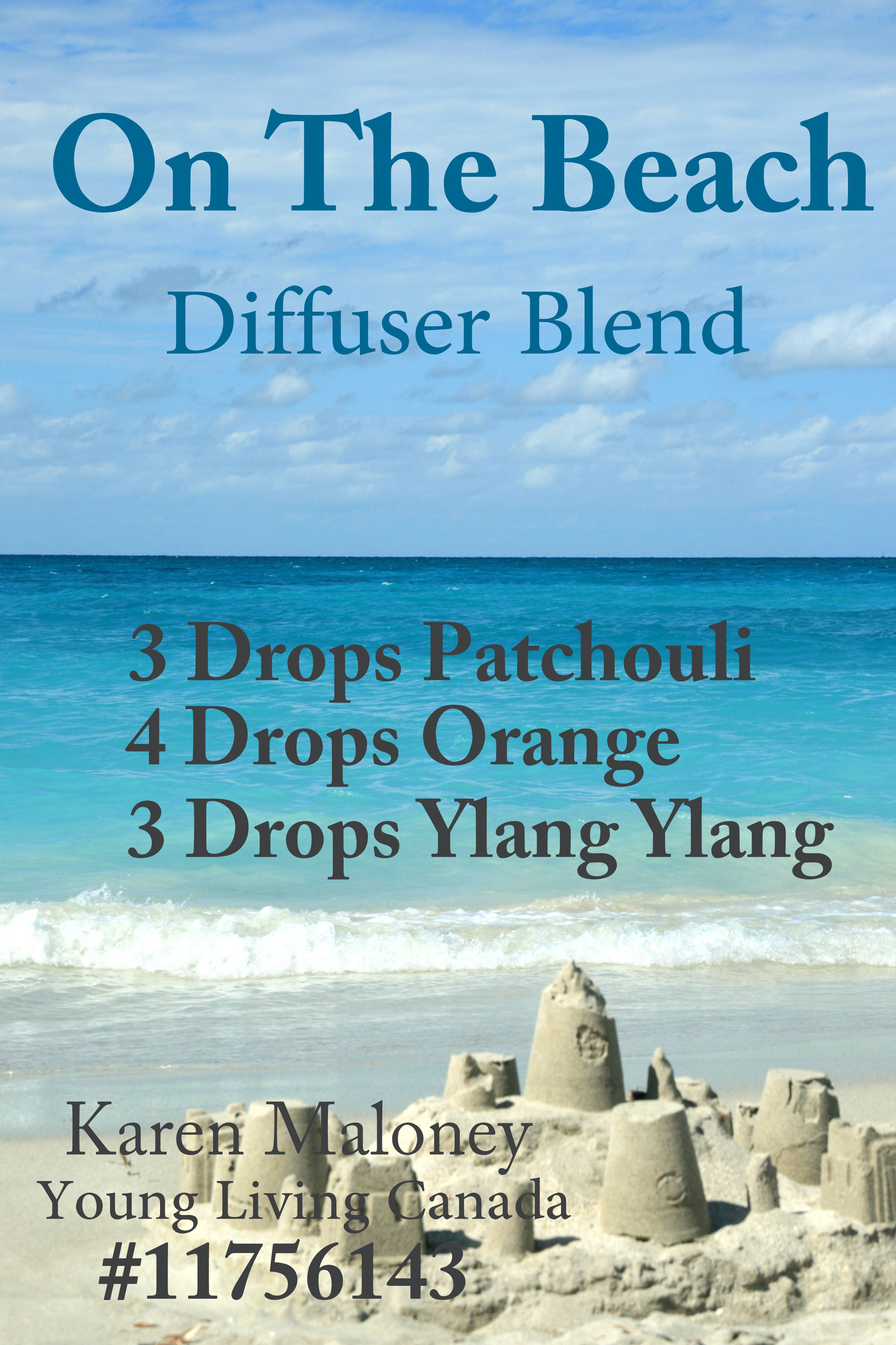 On the Beach,Diffuser Blend (With images) Young living