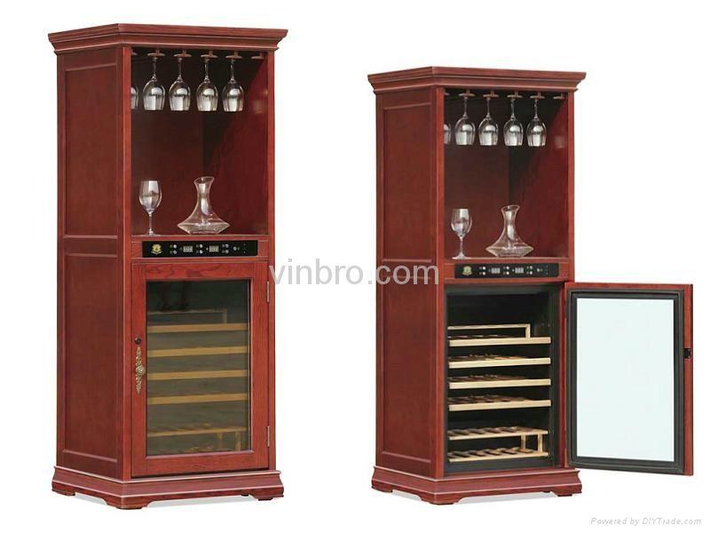 Vinbro Wooden Wine Cellar Cabinet Bar Furniture Electric Home Wooden Wine Cellar Bar Cabinet Bar Furniture