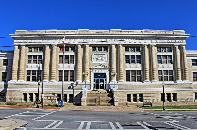 Walker County Courthouse - Built 1918 in Georgia