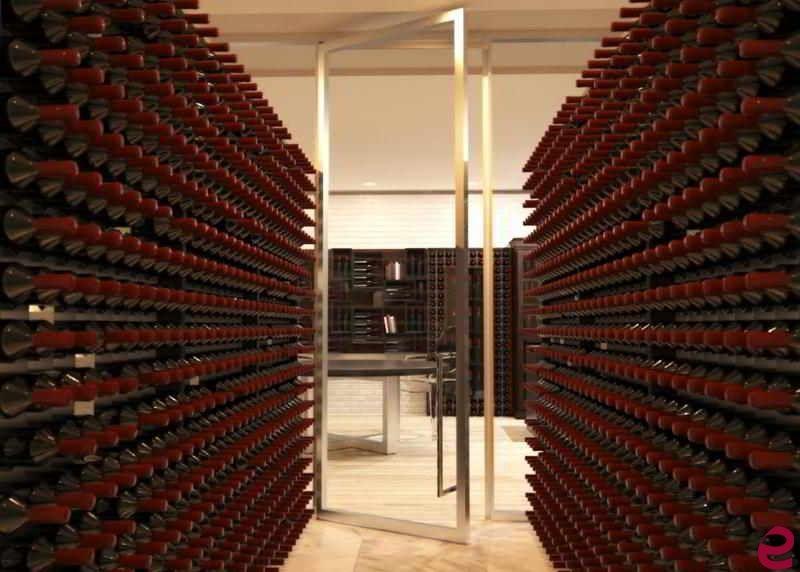 Arredamento Cantina ~ Arredamento per #cantina con #portabottiglie di #design esigo 2 wall