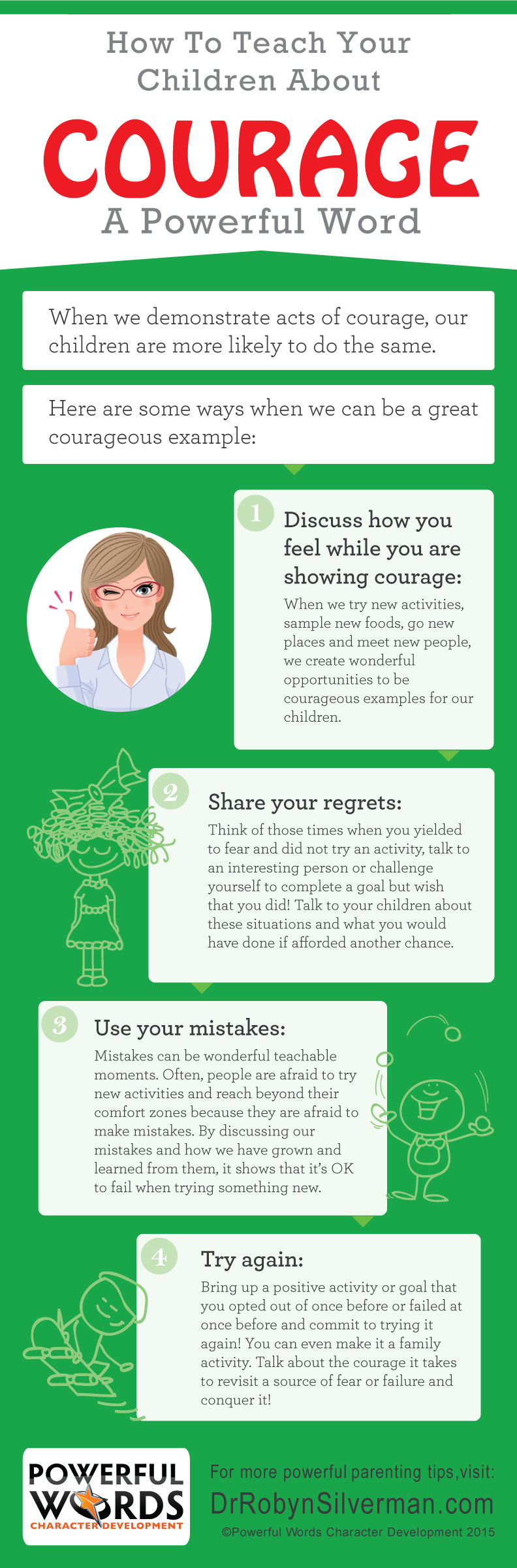How to teach Courage. Anger management for kids