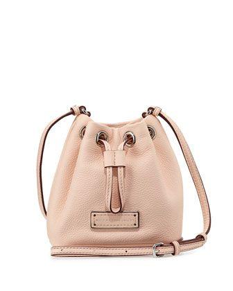 Too Hot To Handle Mini Drawstring Crossbody Bag Tropical Peach At Cusp