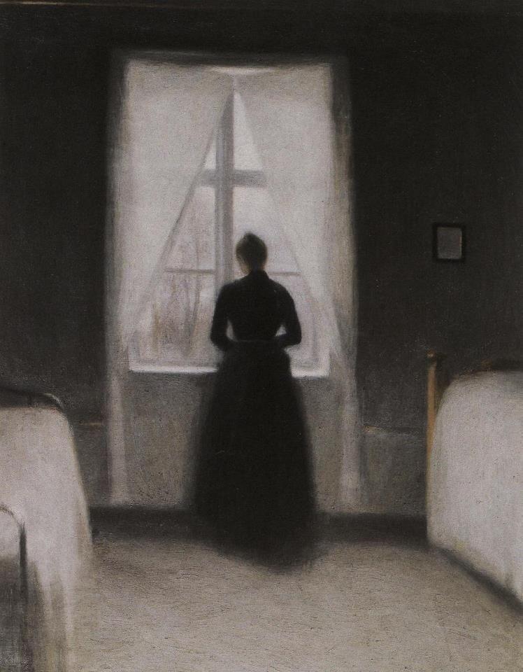 #dark arts #solitude #black and white #dark victorian #gothic art #monsters #dark religion #faith