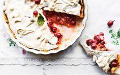 Karviaispiirakka / Gooseberry pie / Kotiliesi.fi / Kuva/Photo: Riikka Hurri/Otavamedia