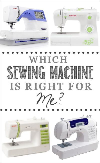 Which Sewing Machine is Right for You? Recommendations and Tips for buying a Sewing Machine