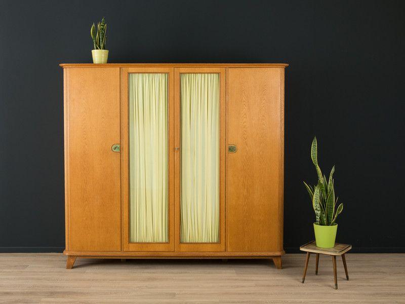 50er Kleiderschrank Kommode 60er Vintage Von Mid Century Friends