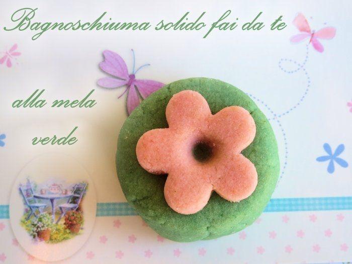 Bagnoschiuma solido mela verde salute e bellezza pinterest